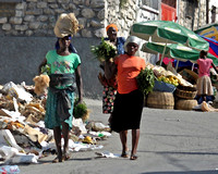 3 Ladies in Haiti